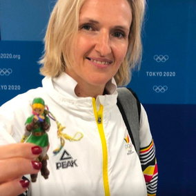 Olimpiadi: l'allenatrice di un'atleta ha un Amiibo di Link come portafortuna