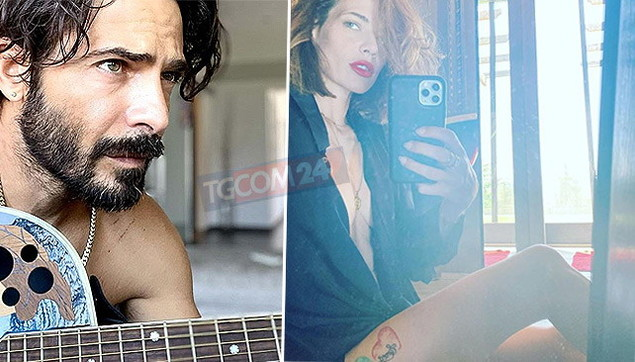 Laura Chiatti sexy fa una dedica d'amore per il suo Marco Bocci