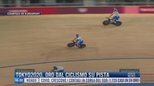Breaking News delle 16.00 | Tokyo2020, oro dal ciclismo su pista