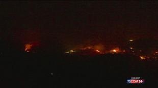 Incendi, brucia la Sicilia