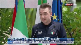 Breaking News delle 14.00 | Tokyo2020: Bottaro bronzo nel karate