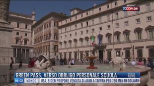 Breaking News delle 16.00 | Green pass, verso obbligo personale scuola
