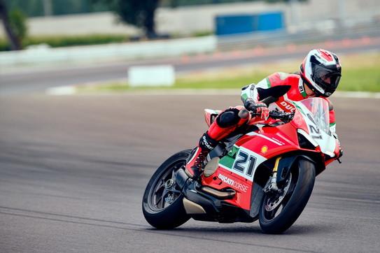 La special Ducati a 20 anni dal primo titolo mondiale del campione