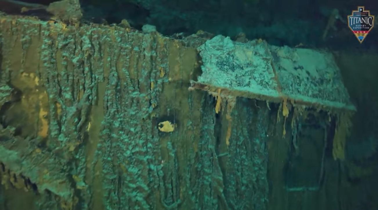 Il Titanic rischia di scomparire per sempre: il nuovo video del relitto a 3.800 metri di profondità