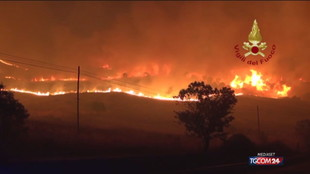 Emergenza incendi, il ministro Patuanelli in Sicilia