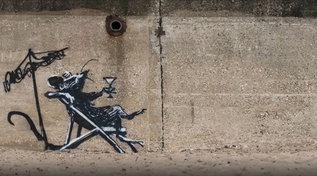 """""""A great Britain spraycation"""": le nuove opere rivendicate da Banksy"""