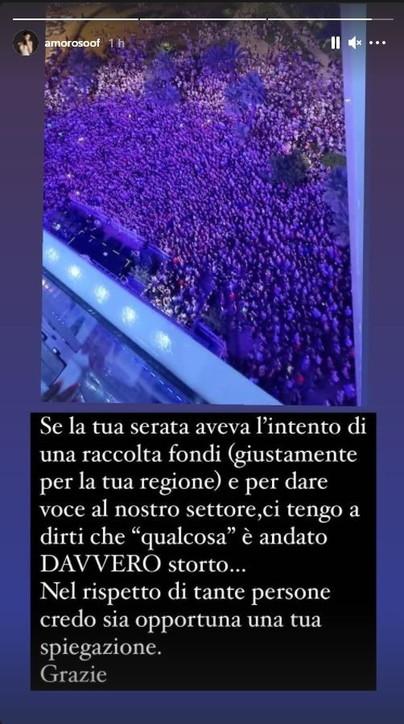 Le reazioni del panorama italiano al concerto di Salmo a Olbia