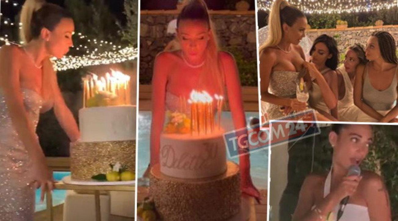 Diletta Leotta festeggia 30 anni con un party da sogno, ma Can Yaman non c'è