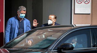 Silvio Berlusconi lascia il San Raffaele dopo i controlli