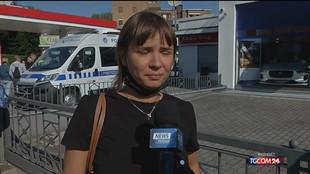 Incendio Milano, le testimonianze