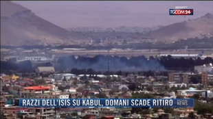 Breaking News delle 21.30 | Razzi dell'Isis su Kabul, domani scade ritiro