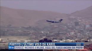 Breaking News delle 11.00 | Partito l'ultimo volo da Kabul