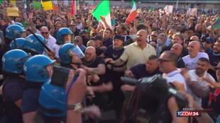 Allarme Viminale per manifestazioni No green pass