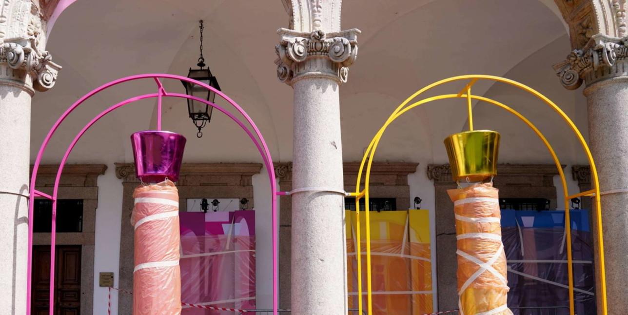 """Milano si prepara alla Design Week: cantieri in Statale per allestire le """"Creative Connections""""di Interni"""