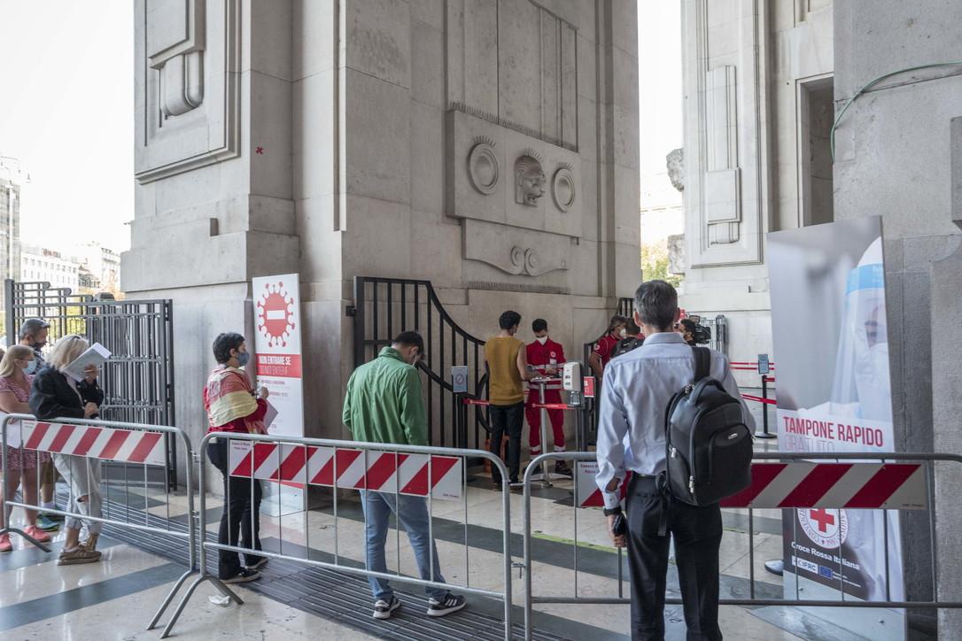 Green pass, al via i controlli nella Stazione Centrale di Milano