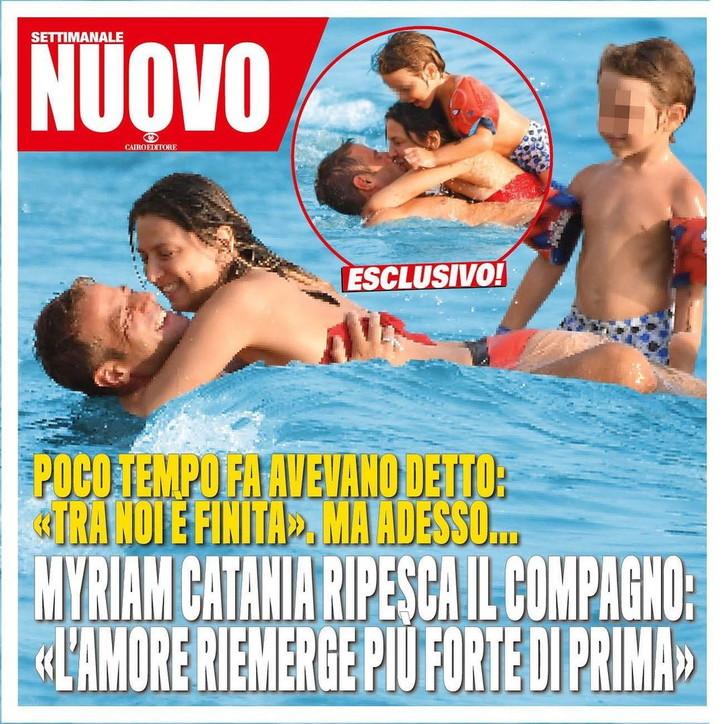 Myriam Catania torna con Quentin Kammermann, crisi risolta
