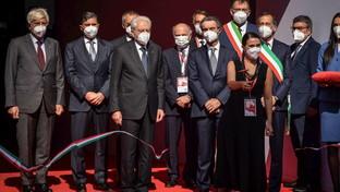 Milano, il presidente Mattarella al Salone del Mobile