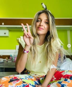 Guenda Goria in ospedale per endometriosi