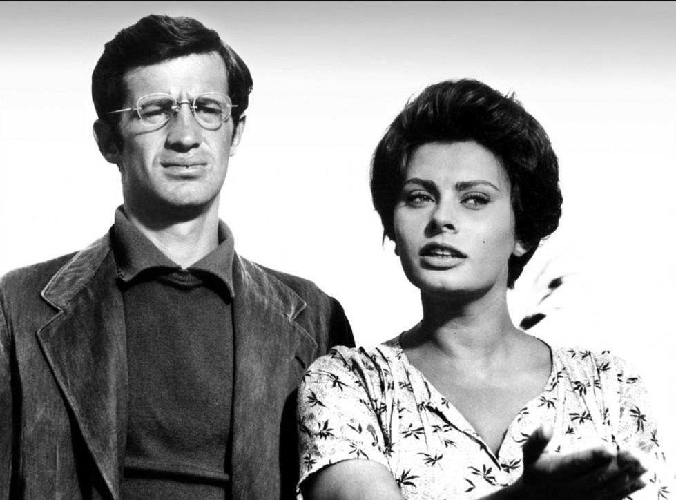 Dalla Loren a Delon, le più belle foto diJean-Paul Belmondoal cinema