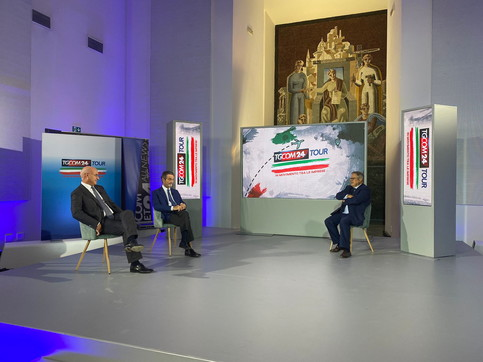 """""""Tgcom24Tour"""", le immagini della tappa di Milano"""