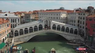 Venezia, restauro da 5 milioni per il Ponte di Rialto
