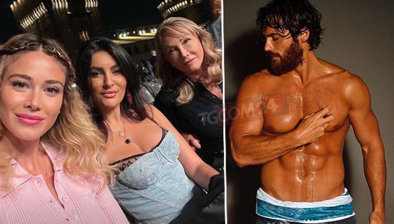 Can Yaman a torso nudo fa impazzire le fan, ma la Leotta va a vedere Bolle