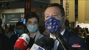 """Salvini: """"Ho parlato con Draghi, no a estensione Green pass"""""""