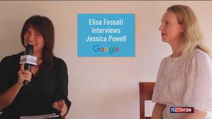 """Jessica Powell: """"Vi parlo del futuro della comunicazione"""""""