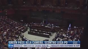 Breaking News delle 14.00 | Green Pass alla Camera, scontro Lega-Pd