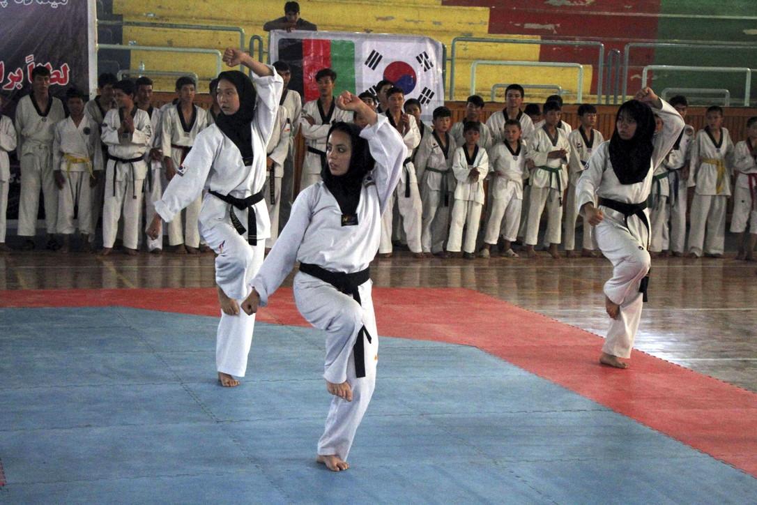 Le donne afghane nel mondo dello sport
