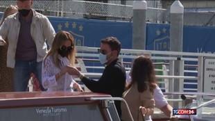 "Venezia, tutti pazzi per i ""cavalieri di Hollywood"""