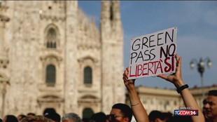 No Vax, ancora manifestazioni in piazza