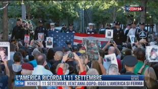 Breaking News delle 16.00 | L'America ricorda l'11 settembre