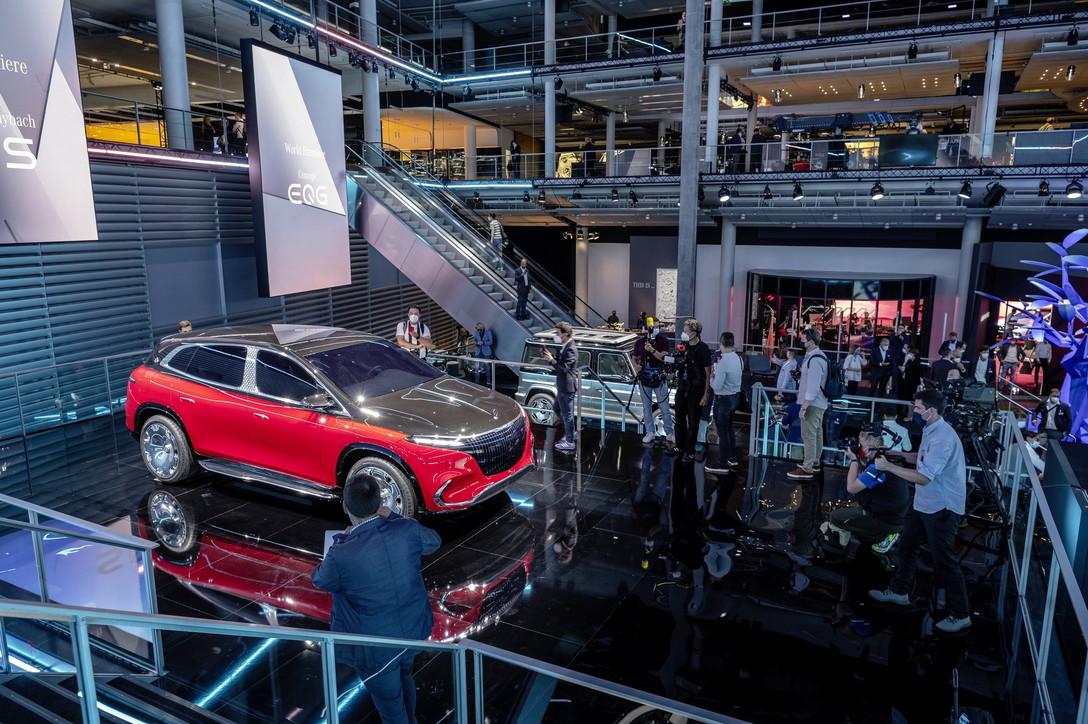 Mercedes star allo IAA 2021