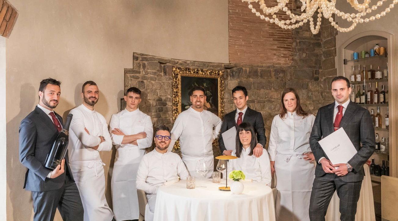 Chef Rocco De Santise il ristorante Santa Elisabetta