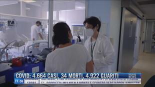 Breaking News delle 18.00   Covid: 4664 casi, 34 morti, 4922 guariti