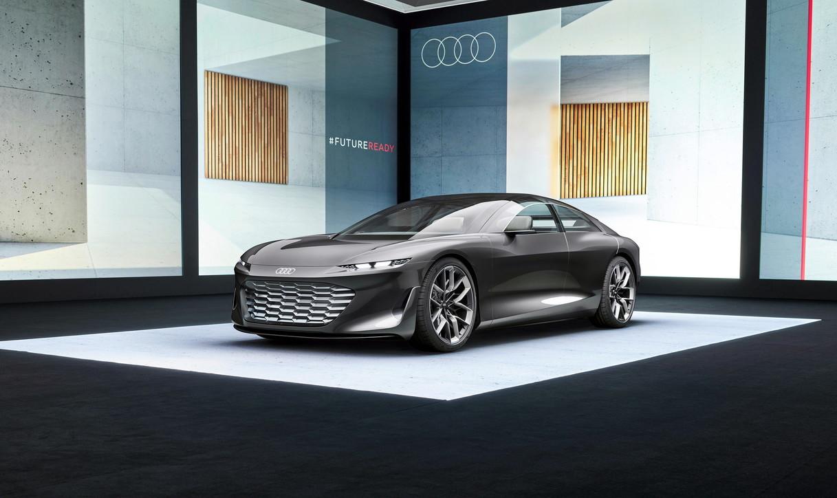 Grandsphere, Audi stupisce allo IAA 2021