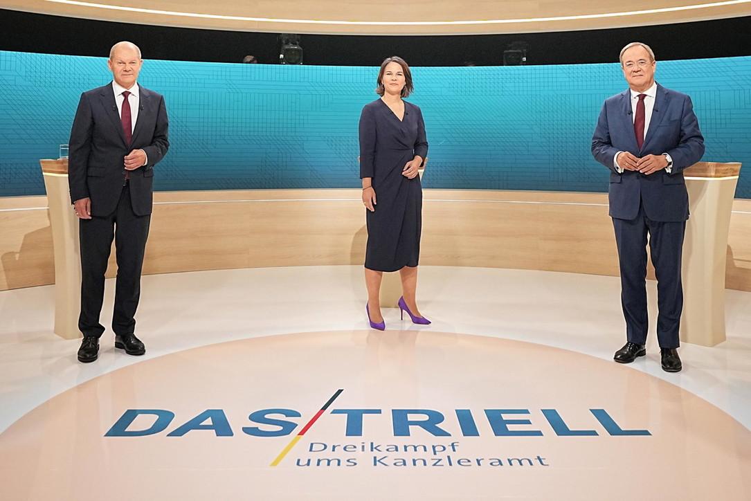 I candidati alle elezioni federali in Germania
