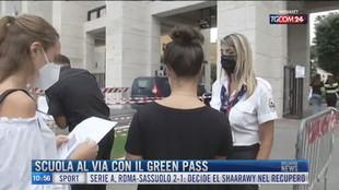 Breaking News delle 11.00 | Scuola al via con il green pass
