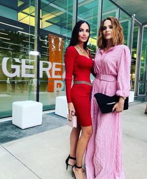 Laura Chiatti e MichelaQuattrociocche a Roma, che bambole al fashion show