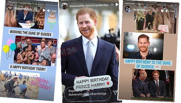 Auguri Harry! La royal family gli manda messaggi social per i 37 anni