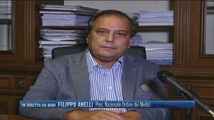 """Filippo Anelli, Pres. Nazionale Ordine dei Medici: """"Oggi i medici di base non sono tutti impegnati nella vaccinazione"""""""