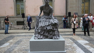 Milano, prima statua dedicata a una donna: Cristina Trivulzio di Belgiojoso