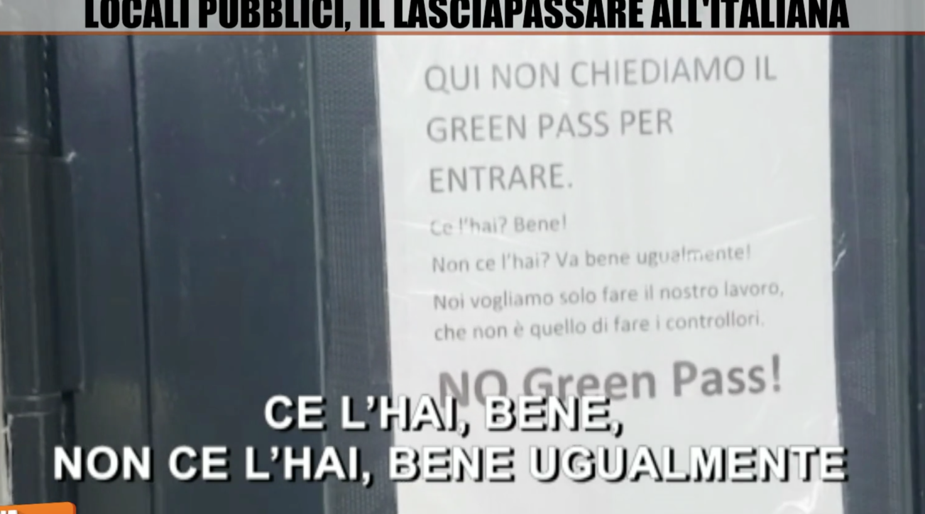 """Palermo, dalle palestre ai locali: nessuno """"pretende"""" il Green pass"""