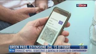 Breaking News delle 14.00 | Green pass, estensione dal 15 ottobre