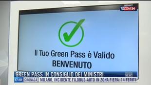 Breaking News delle 17.00 | Green pass in consiglio dei ministri