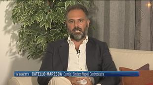 """Napoli, Catello Maresca: """"Le mie priorità sono la sicurezza della città e le prospettive per i giovani"""""""
