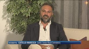 """Napoli, Catello Maresca: """"Rinascita culturale per la città"""""""