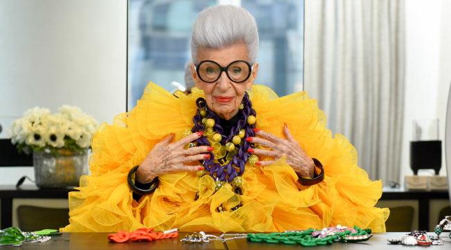 Moda, Iris Apfel: in arrivo la collezione di H&M ispirata ai suoi look