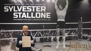 Sylvester Stallone, i cimeli personali all'asta da Julien's Auctions
